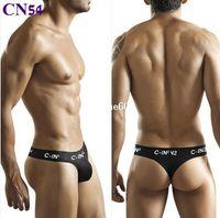 men underwear thong - lingerie mens jockstrap g string thongs underwear thong man s sexy new new penis pouch gay wear brand bikini cotton tanga