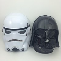 adult helmets - on sale Star Wars Masks Stormtrooper Helmet fans Film mask Darth vader mask black warrior white soldiers Full Face Party Masks