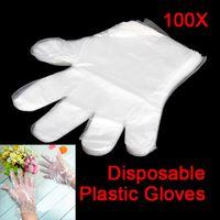Wholesale Disposable PE Garden Home Restaurant BBQ Plastic Multifuction Gloves SGG