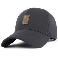 baseball flexfit - Quick Dry Golf cap Men summer outdoor sports flexfit sun hat large brim baseball cap