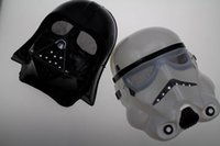 Wholesale 2 Colours Star Wars Masks New Halloween Festival Horror Mask Star Wars The Darth Vader Mask Party Masks