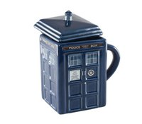 Wholesale Doctor Who Figural Tardis Mug Doctor Who Cup Official