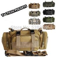 trek bike - Outdoor Military Tactical Camping Hiking Trekking Bike Waist Hand Shoulder Bags