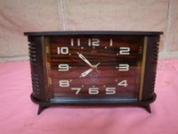 bakelite clocks - Good product phase function bakelite shell Feige mechanical clock old watches have detail