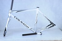 Wholesale Colnago C59 Disc frame black white color full carbon bike frame with fully hydraulic front and rear disc brakes electronic and mechanical gr