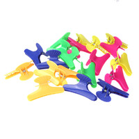 Wholesale hair styling tools Butterfly Hairdressing Hairdressers Hair Clamps Clips Claw Section Salon Clip Tool order lt no track