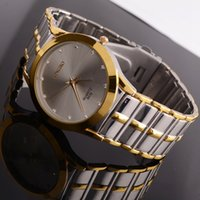 replicas - 2015 mens watches luxury watches replicas watches business men waterproof quartz watch fashion watch steel diamond white dials