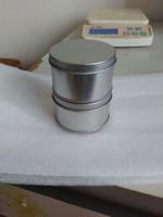 Wholesale DHL cmx4cm plain round tea tin box metal tin box food tin can candy tin box Built in sponge