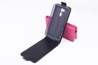 acer slim - For Acer Liquid Z4 Customized Protective PU Leather Case Slim Back Cover Black Rose Color