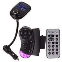 Wholesale LCD Car Kit MP3 Bluetooth Player Audio FM Transmitter FM Modulator Radio K5BO