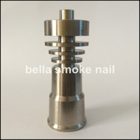 Wholesale Merry Christmas popular mm mm domeless titanium nail with female joint very polished and easy to clean