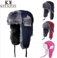 Wholesale Women s Men s Fashion Casual Thicken Winter Warm Anti Wind Cap Bomber Hats AH578