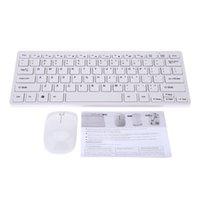 Wholesale 2 GHz Ultrathin Wireless Desktop Keyboard Mouse