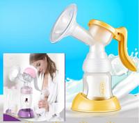 breast pump - Squeezing Pumping Suction Nipple Enlarger Breast Pump Tractors Breastfeeding Feeding bottle