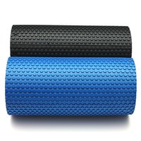 Wholesale New quot x quot EVA Pilates Fitness Foam Roller HOME GYM Massage Floating Point