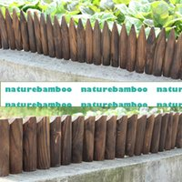 Fencing, Trellis - 2015 time limited direct selling rot proof trellis carbonized wood fence courtyard small flower garden decoration fences for gardens