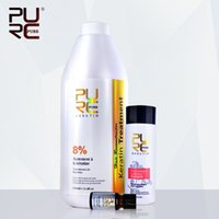 Wholesale PURC Shampoo for keratin hair treatment hair care set hot sale ml chocolate formalin keratin repair damaged hair