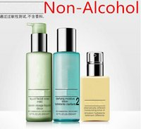 alcohol face - Free shopping set classical Mositure trilogy ml clarifying lotion ml Liquid Facial Soap ml face cream Non Alcohol