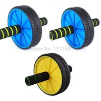 Wholesale 50 Brand New Updated Version Abdominal Wheel Ab Roller With Mat For Exercise Fitness Equipment
