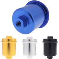 Wholesale High Flow Fuel Filter Performance Racing for Honda Civic Years Aluminum Alloy colors for choose