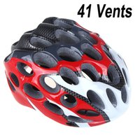 Wholesale Newest Vents Road Race Hero Bike Bicycle Cycling Safety Helmet with Visor Adult Unisex order lt no track