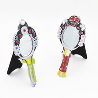 Wholesale handicraft furnishing articles Peking Opera mask small mirror with Chinese characteristics imperial concubine mirror