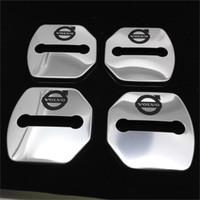 Wholesale Volvo V40 XC60 S60 S60L V60 S80L lock cover protective cover stainless steel door lock