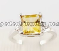 Ring 925 sterling silver Gemstone ring Natural citrine ring Men ring Women rings 925 sterling silver rings Free shipping Fine jewelry Perfect jewelry DH#072913