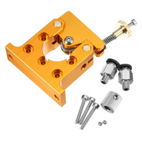 alloy reducer - DIY Reprap Kossel All metal Planet Reducer Motor Bowden Extruder Right direction Bore mm mm Alimunum Alloy For D Printer