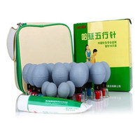 Wholesale HACI Magnetic Acupressure Suction Cupping Set Cups HACI Wu Xing Zhen Classic Cups