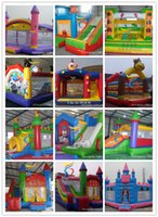 Wholesale Inflatable Castle Children Castle Inflatable Castle Hot Children Small Jump Bed and Safe Inflatable Castle kids