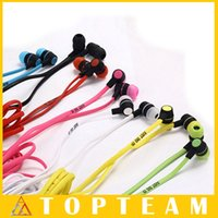 Wholesale Earphone mm Mini Headphone In Ear Earphones For Cellphone PC Mp3 Mp4 Tablet Iphone Samsung Xiaomi Colors Optional