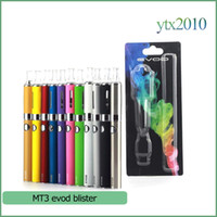battery gold - MT3 EOVD Starter Kit Electronic Cigarettes Blister Kit mah mah mah ML MT3 Vaporzizer EVOD Battery E cigarette