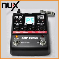 amplifier modeling - NUX Modeling Amplifier Simulator Electric Effector Pedal Models Designed with Output Channels Guiatar Amp Force DHL