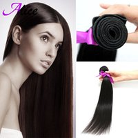 alice hair - Hot Sale Certified A Unprocessed Virgin Peruvian Hair Weaves Alice Queen Hair quot quot Cheap Human Hair Weave Straight g pc