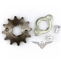 best motorcycle sprockets - Best Sale Motorcycle ATV Dirtbike Front Sprocket T mm Size Teeth Drop Shiping