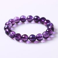 Wholesale Candy Colors Engraved Surface Crystal Bracelet Fashion Crystal Loose Beads Bracelet Jewelry Resistance to Fatigue Colors