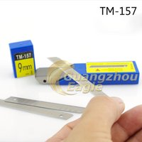 Wholesale 9mm Carbon Steel Snap off Utility Sharp Knife Replacement Blade pc Blade Retail with