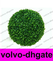 artificial boxwood ball - New Artificial plastic boxwood ball cm GALY544