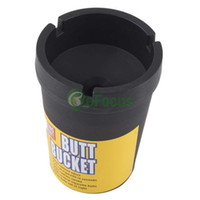 auto ashtrays - Auto Car Travel Butt Bucket Self Extinguishing Cigarette Ashtray Holder LLBA