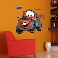 american vintage cars - Cm Large Vintage Car Cartoon Transparent PVC Wall Decals Wall Mural Vinyl Wall stickers Room Decor