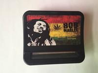 automatic machine - 2015 NEW Automatic Cigarette Tobacco Smoking Roll mm Machine Roller Box Bob Marley