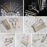 Wholesale Multi Style Or Tier Plate Handle Fitting Hardware Rod Tool Cake Plate Stand M8C