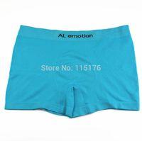 Wholesale Fashion Man AL EMOTION breathable underwear Male shorts boxer men panties