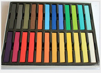 Wholesale High quality Colors set Chalk Hair Temporary Chalk Hair Color Dye Pastel Chalk Bug Rub