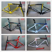 Wholesale F8 Pina rello full carbon frame T1000 ultra light carbon road frame K weave as well as new model