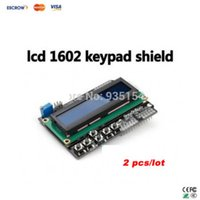 Wholesale LCD keypad shield module input and output expansion board LCD1602 For ARDUINO