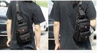 Wholesale 2015 new sling backpack chest bag men leisure shoulder bag inclined shoulder bag mini backpack