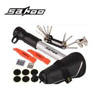 Wholesale Hot Sale SAHOO Bicycle Pump Mountain Road Bike CO2 Pump Bicycle Tire Repair Tools Kit Herramientas Bicicletas MTB Kit Kit Bomba Bicicleta