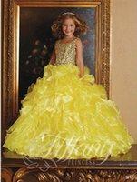 Cheap 2015 Flower Gils Dresses Best Girl's Pageant Dresses